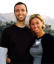 Ari & Heather; a Jewish, veg dream team!